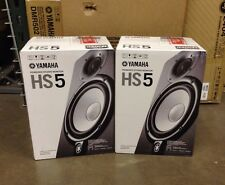 "YAMAHA HS5 POWERED STUDIO MONITOR   PAIR  , 5"", 2-Way, 70W  Free Shipping!"