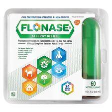 Flonase Allergy Relief Nasal Spray 60 Metered Sprays (Pack of 2)