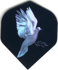 Holographic Dove Dart Flights: 3 per set