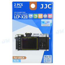 JJC LCD Guard Film Camera Screen Display Hard Coating Protector For LEICA X2 X1