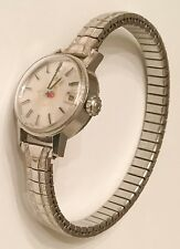 Vintage SS Ladies OMEGA WATCH Mechanical Swiss Timepiece 680 Mvmt ~ Needs Tuning