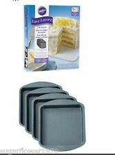 Wilton Easy Layers Square Cake Set  Baking Tins NEXT DAY DESPATCH