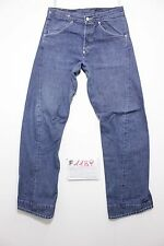 Levi's engineered 835 boyfriend indigo jeans usato (Cod.F1189) Tg.46 W32 L34