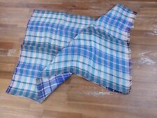 auth CANALI plaid linen scarf - New with Tags