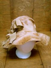 Vtg 50s Martelle Body Made in West Germany Fur Derby Hat Interior Band Union USA