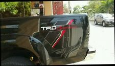 TOYOTA HILUX VIGO TRD SPORTIVO 2014 PAIR GENUINE TRD GREY STICKER FROM TOYOTA