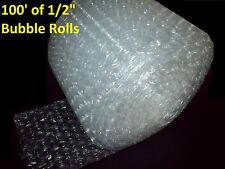 "100 Feet of Bubble Wrap® 12"" Wide! 1/2"" LARGE Bubbles! Perforated Every 12"""