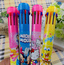 Cartoon Big Hero Student Special Color Pen 10 color Ballpoint pen