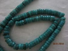 Natural Turquoise Aqua Blue Heishi Disc Beads 50pc 6mm