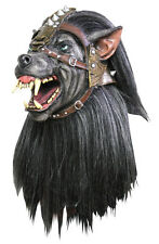 Deluxe Warrior Wolf Mask Adult Costume Accessory Lycan Armour Beast Werewolf New