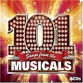 101 Songs From The Musicals {Various Artists} 5-Cd New & Factory Sealed