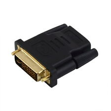 DVI Male to HDMI Female adapter Gold-Plated NEW M F Converter For HDTV LCD HS