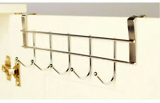 Stainless Steel Clothes Hooks Door Rack Bathroom Kitchen bedroom Towel Hanger Ha