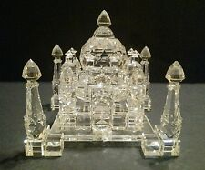 Vintage Crystal Taj Mahal Castle Figurine Limited Edition 248/2000 unknown mkr