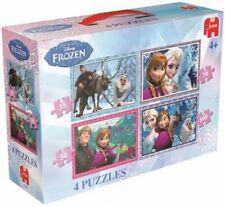 Disney 17429 - Frozen 4-in-1 Puzzle (Spielware) NEU