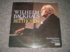 Wilhelm Backhaus~Beethoven~Decca SX 21184-M~German IMPORT~FAST SHIPPING!!!