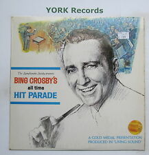 BING CROSBY - All Time Hit Parade - Ex Con LP Record Symphonette Society LWS 349