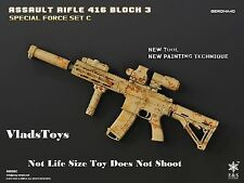 Easy & Simple 1/6  HK416 Assault Rifle Block 3 Geronimo *Not Life Size* USA