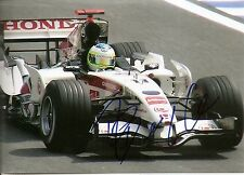 Rubens Barrichello Formula One F1 IndyCar 5x7 Photo Signed Auto