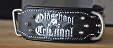 Criminal Dog Collar,Hand Made Stainless Steel Hardware Spikes collar Strong Dogs