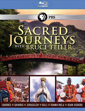 Sacred Journeys With Bruce Feiler [Blu-ray] New DVD! Ships Fast!