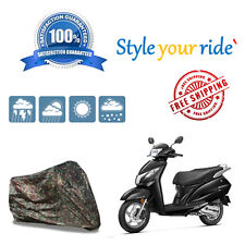Bike Body Cover (Jungle / Military) For Honda Activa 125
