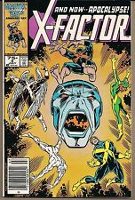 X-MEN X-FACTOR #6 MARVEL 07/86 VILLAIN APOCALYPSE 1ST FULL COMIC APPEARANCE VF-