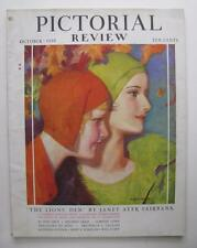 1930 PICTORIAL REVIEW COMPLETE MAGAZINE 122 PGS DOLLY DINGLE PAPER DOLLS JOE DOG