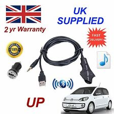 For VW UP Bluetooth Music Module with 3.5mm Aux input & 1.0A Power Adapter