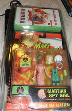 Mars Attacks TALKING SPY GIRL Trendmasters Action Figures Spygirl WITH VIDEO