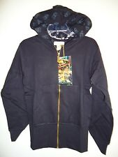 Sir Alistair Rai Black Hoodie jacket Gold Zipper I am what I am because of you S