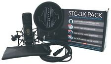 SONTRONICS STC-3X PACK BK CONDENSER MICROPHONE & ACCESSORIES