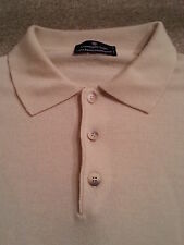 ERMENEGILDO ZENGA Men's Polo 100% WOOL Size 54 Xtra Large (XL) L/S Sweater EXC!!