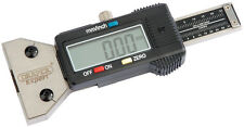 Draper Expert Digital Tyre Tread Depth Gauge with Stainless Steel Body TG2 39591