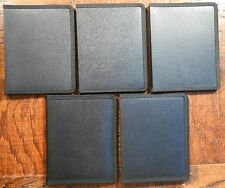Lot of 5x Itoya Evolution Presentation Portfolio 5x7 Photo Album Black 24 Pages