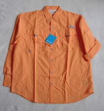 COLUMBIA PFG BAHAMA II L/S Shirt  UPF 30  Men's XL  NWT   Koi
