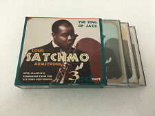 Satchmo KING OF JAZZ 3 CD BOX SET COMPILATION MINT/EX Louis Armstrong