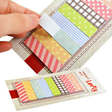 160 Pages Fashion Sticker Post It Bookmark Point Marker Memo Notepad Sticky Note