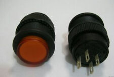 1,Push to Make Amber 3v Led Off/On 250v Switch,A503L