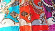 Joblot 24 pcs Faux silk scarf/scarves NEW wholesale 90x90 cm Lot H