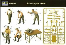 AUTO-REPAIR CREW 4 FIG WWII 1/35 MASTER BOX 3582 DE
