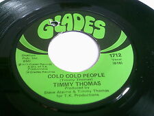 Timmy Thomas Cold Cold People Rare U.S. Glades 1712 VG++