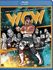 WWE: WCW Greatest Pay-Per-View Matches, Vol. 1 (Blu-ray Disc, 2014, 2-Disc Set)