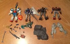 2002-2003 Gundam Figures Lot of 4 and Accessories