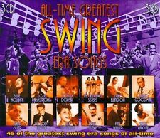 All-Time Greatest Swing Era Songs by Various Artists (CD, Nov-2010, 3 Discs,...