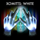 XBone XO Mitt LED Gloves WHITE LEDS Rave Light Up HALLOWEEN Flashing FUN!
