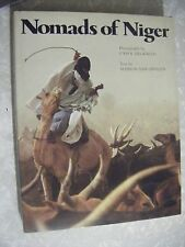 """Nomads of Niger""  Hardcover with Dust Jacket, by Harry N. Abrams Inc"