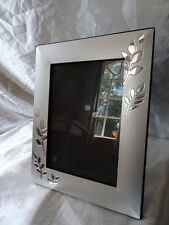 Vintage Art Deco Italian Ornate Silver Leaf Picture Photo Frame Wedding Gift