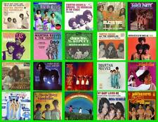 MARTHA AND THE VANDELLAS RECORD ALBUMS,  20 PHOTO FRIDGE MAGNETS