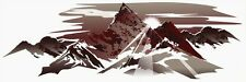 1 RV TRAILER MOUNTAIN SCENE DECAL GRAPHIC -Custom